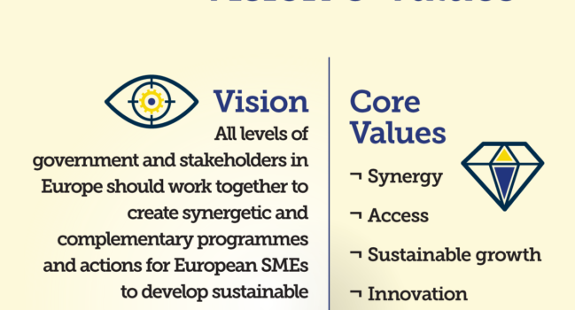 Vision and values of ETPOA