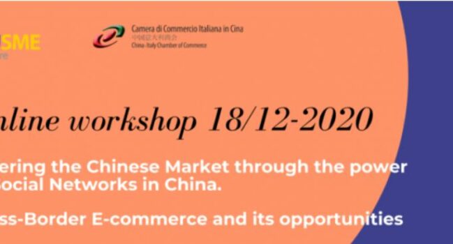 Online workshop on 'Entering the Chinese Market through the power of Social Networks in China'