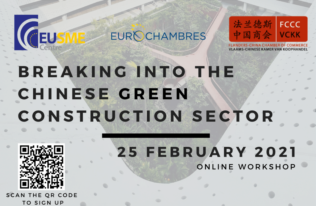 Webinar: 'Breaking into the Chinese Green Construction Sector'