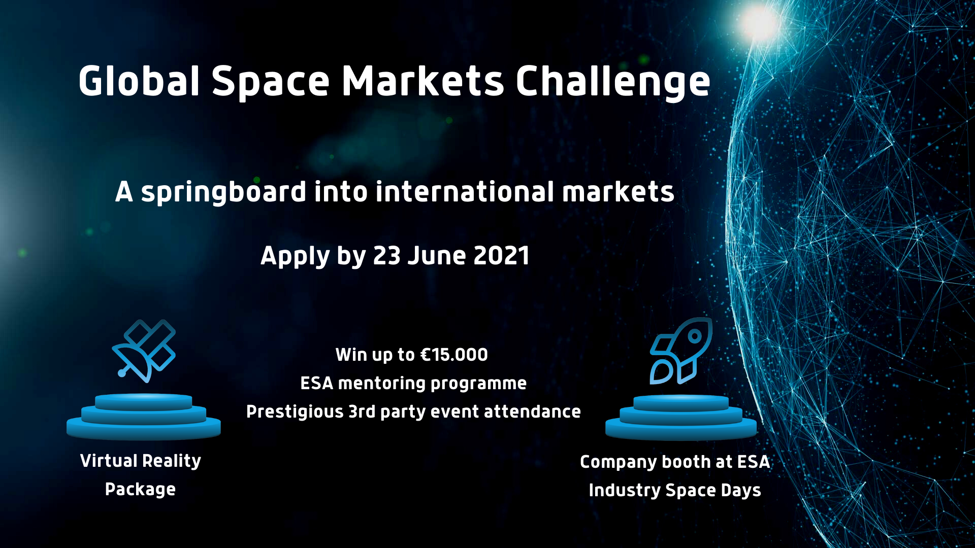 ESA competition to springboard SMEs into international markets